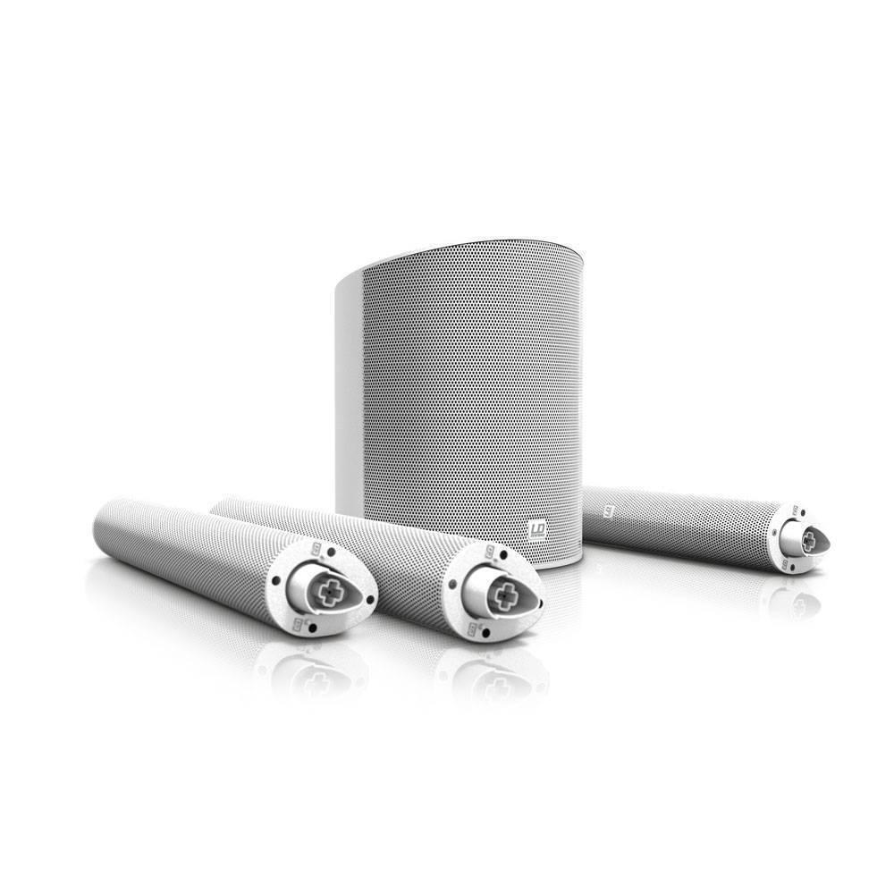 Sistema Portatil  LD Systems MAUI 5 Blanco para 100 personas (bluetooth)